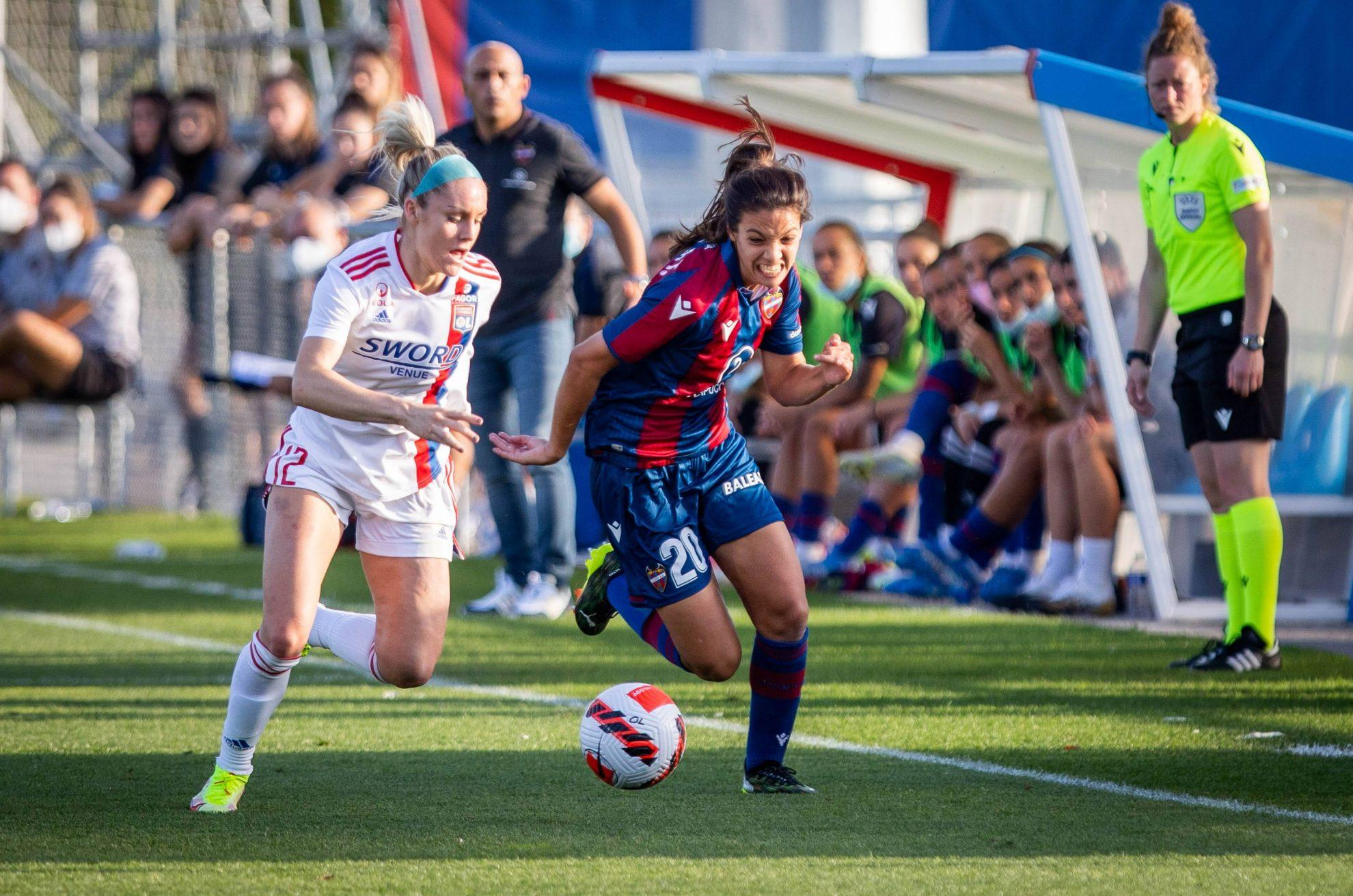 Un gran Levante Femenino no puede contra el Lyon y se despide de la Champions